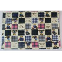 China Fashionable Embroidery Dining Table Mats With Cute Bear Printed wholesale