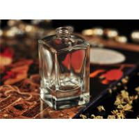 China Travel Square Glass Perfume Bottles Antique With Personal Care wholesale