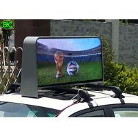 China Waterproof IP65 Video Car LED Sign Display , 5 Years Warranty Meanwell Power Supply wholesale