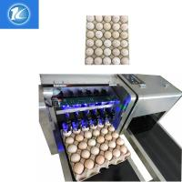 China Quick Dry Cartridge Expiry Date Egg Marking Equipment / Egg Stamping Machine With 6 Print Nozzle wholesale