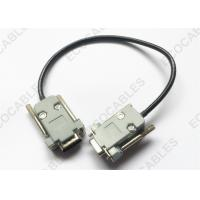China 24AWG*4C DB9pin Male To Female Cable For LEVEL 2 & KBI Projects wholesale