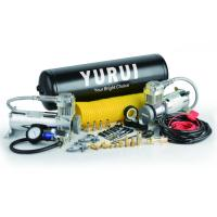 China YURUI Heavy Duty  Dual Yon High Output Air Compressor Air Systems 2.5 Gallon Tank 200 PSI Strong wholesale