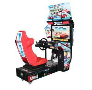 "China Double Racing Arcade Machine , Video Game Machine With 32"" Hd LCD Display wholesale"