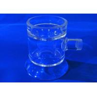 Buy cheap Flask Combustion Boat Chemistry Lab Glassware High Temperature Resistance from wholesalers