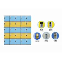 China Colorful Abs Plastic Locker Good Anti Corrosive Performance For Staff Changingroom on sale