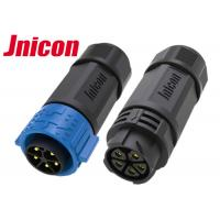 China 5 Pin Waterproof Circular Connectors , Power Cable M25 Circular Connector IP67 wholesale