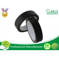 "China 3/4"", 1"", 1.5"", And 2"" Widths Black Crepe Masking Tape For Automotive / Window wholesale"