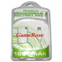 Buy cheap XBOX 360 Rechargeable Battery Pack (GR-XB360-001) from wholesalers