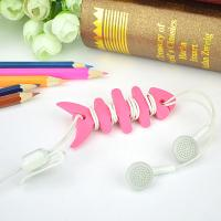 Quality Colorful Households Products Earphone Line Twister Fishbone Cable Holding Management for sale