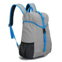 China Durable Lightweight Rock Climbing Backpack Blue / Grey For Outdoor Sports wholesale