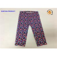 China Multi Colors Dots Cute Baby Girl Leggings Lycra Jersey Pants SGS Certified wholesale