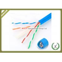 China Cat6E UTP 23AWG Gigabit Network Cable For Security POE Monitoring Project wholesale
