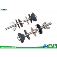 China Solid Stainless Steel Toilet Bolts / WC Bolt For 2 Pieces Toilet , Long Endurance wholesale