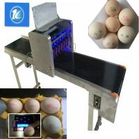 China SGS Egg Stamping Equipment / Egg Printer Machine With 6 Head wholesale