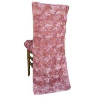China rose ribbon chair back cover on sale