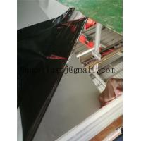 China Good quality aisi304 super mirror surface stainless steel elevator sheet plate on sale