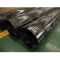 China High strength winding process Filament Wound Carbon Fiber Tube Size Customized wholesale