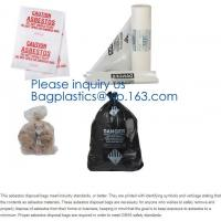 Large Size Good Quality Biohazard PE Disposable Waste Bag Thick Plastic Asbestos