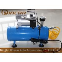 China Waterproof 12V Portable Electric Air Compressor air tank 150psi wholesale