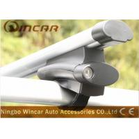 China Anti - Theft  Aluminum Roof Racks For Car With Roof Rails Cross Bar wholesale