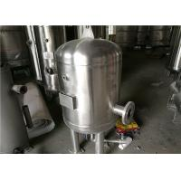 China Titanium Clad Heater Stainless Steel Air Receiver Tank With X - Ray Inspection wholesale