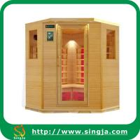 Buy cheap Custom 6 Sides Wooden Far Infrared Sauna House(ISR-23) from wholesalers