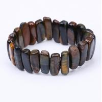 China Latest trends fancy stone bracelet natural stone bracelet beaded stone bracelet for women wholesale
