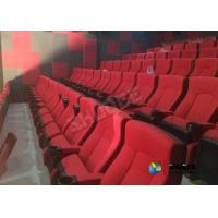 China Professional Design Movie Theatre Seats Sound Vibration With Durable Digital System wholesale