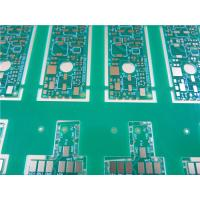 Buy cheap Half Hole PCB - Raddii Plated PWB - Edge castellation Plated Circuit Board from wholesalers