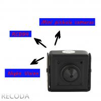China RECODA RCDP4 3D DNR 800TVL pinhole micro Hidden Cameras in Cars , Low Lux wholesale