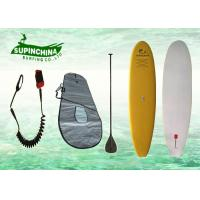 China EPS core soft top sup boards , girls / big boy surfboards for beginners wholesale