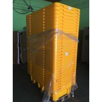 Quality Four Drum Spill Containment Pallets , HDPE Oil Drum Containment Pallet Stackable for sale