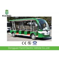China CE Approved Open Top Sightseeing Car 72V AC System 15 Passenger Mini Bus 4 Wheel Electric Vehicle wholesale
