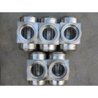 China Forged 6000Lb Socket Weld Fittings High Pressure Socket Weld Tee on sale