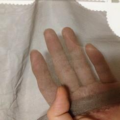 China EMF protection canopy silver coated nylon mesh fabric gauze cloth wholesale