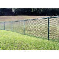 China 60 X 60 X 2.8 MM Chain Link Fence Mesh Hot Dipped Galvanized Surface Treatment wholesale