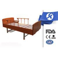 China Comfortable Modern Manual Adjustable Bed With Painted Wooden Head / Foot Board wholesale
