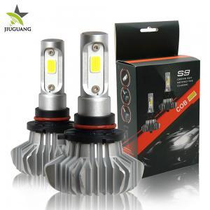 China 12000lm High Low Beam Led Headlights / H1 H7 H4 H8 9007 Led Headlight Bulbs S9 on sale