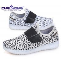 China Microfiber Upper LED Casual Shoes / kids shoes that light up on the bottom wholesale