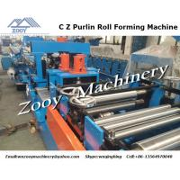 510m - 610mm Roll Forming Machine Pre Hydraulic Punching And Cutting