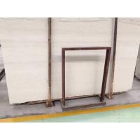 China Polished Beige Natural Stone Tiles Perlino Bianco Marble Slabs Wall Panel wholesale