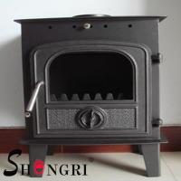 China 6KW wood casting iron stoves forest paint surface wholesale