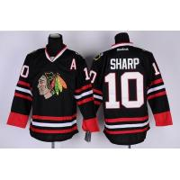 China nhl chicago blackhawks #10 sharp black jersey wholesale