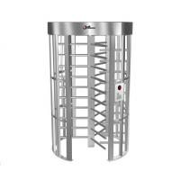 China 0.2S Electric Security Stainless Steel Full Height Turnstile with Light Alarm RS485 wholesale