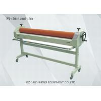 Quality 1600mm Manual Vinyl Electrical Cold Wide Format Laminator With Two Roller for sale