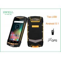 China 5 Inch Octa Core 13MP Military Grade Smartphone , Android 5.1 32GB 4G Rugged Phone wholesale