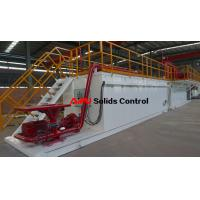China Professional rectangular drilling fluid mud tank used in drilling mud process wholesale