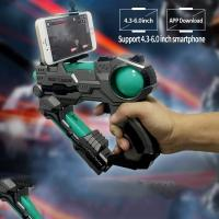 Buy cheap Virtual AR Game Light Up Toy Gun Bluetooth Compatible With IPhone Android Smart from wholesalers