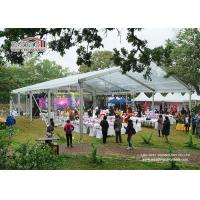 Buy cheap Aluminum Frame Transparent Roof Luxury Wedding Tents , Temporary Outdoor Event from wholesalers