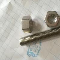 China Hex Head Stainless Steel 12*150mm 316L Stud Bolt and Nuts Forged Pipe Fittings wholesale